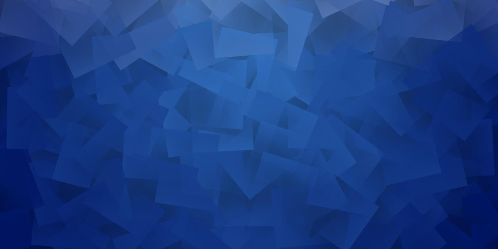 Blue cubic style background.